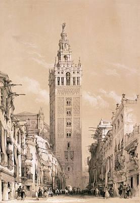 The Giralda, Seville Print by David Roberts