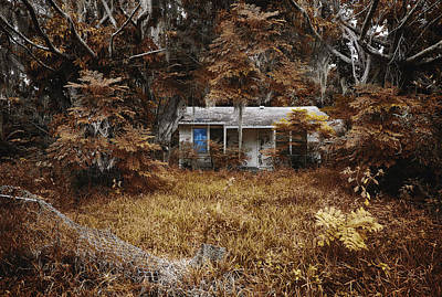 Haunted House Photograph - The Girl Left Behind by Skip Nall