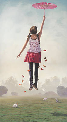 The Girl Who Circumnavigated The World In A Dream Of Her Own Making Original by Paul Bond
