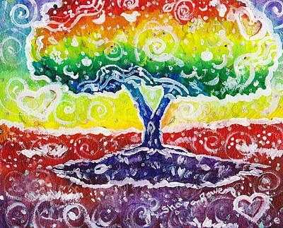 The Giving Tree Print by Shana Rowe Jackson