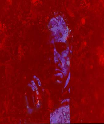 Richard S. Castellano Digital Art - The Godfather  by Brian Reaves