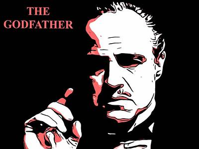 Francis Ford Coppola Digital Art - The Godfather by Dan Sproul
