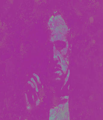 Richard S. Castellano Digital Art - The Godfather Marlon Brando by Brian Reaves