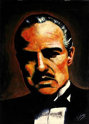 Painting - Godfather by Salman Ravish