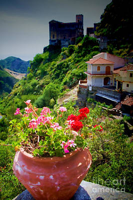 Sicily Photograph - The Godfather Villages Of Sicily by David Smith