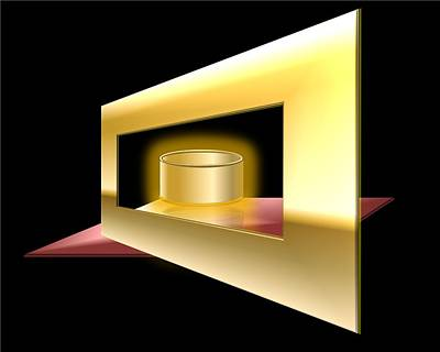 The Golden Can Print by Cyril Maza