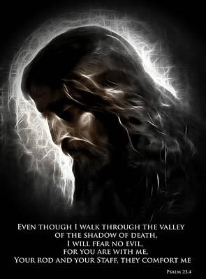 Jesus Christ Digital Art - The Good Shepherd by Steve K