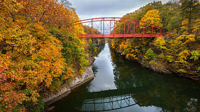 Litchfield County Landscape Photograph - The Gorge by Bill Wakeley