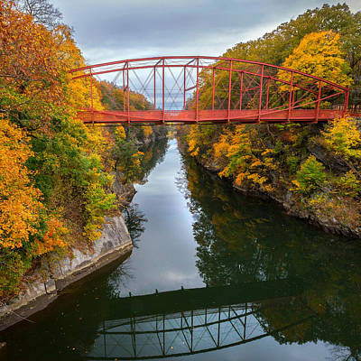 Litchfield County Landscape Photograph - The Gorge Square by Bill Wakeley