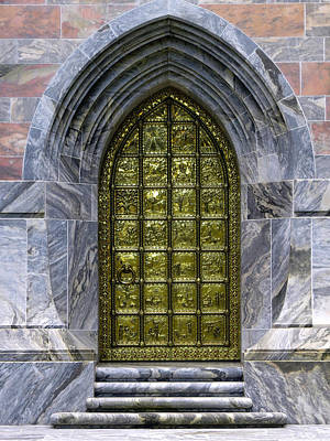 Landscape Photograph - The Great Brass Door by Zina Stromberg