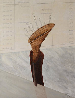 The Great Calculator Print by Gabriele Frey
