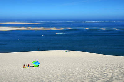 Interior Decoration Photograph - The Great Dune Of Pila In Arcachon Bay by RicardMN Photography