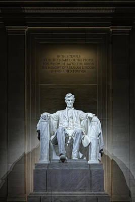 The Great Emancipator Print by Metro DC Photography