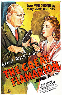 The Great Flamarion, Us Poster Print by Everett