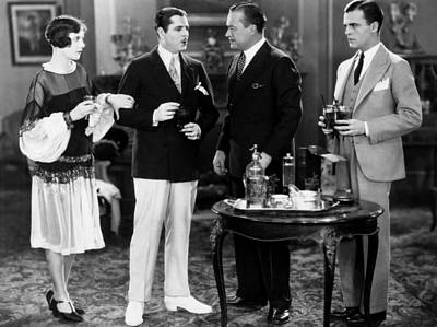 1920s Movies Photograph - The Great Gatsby, From Left, Lois by Everett