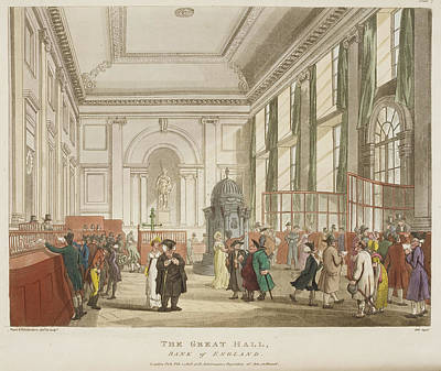 Microcosm Photograph - The Great Hall by British Library