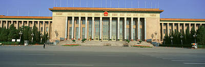 Liberation Photograph - The Great Hall Of The People by Panoramic Images