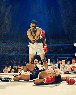 Muhammad Ali Art Painting - The Greatest  Muhammad Ali by Ronald Young