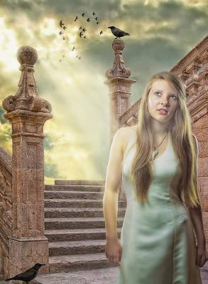 Empress Photograph - The Greek Goddess by Erik Brede