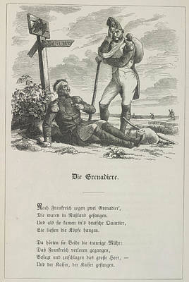 The Grenadier Print by British Library