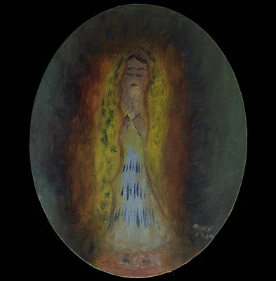 Virgen De Guadalupe Painting - The Guadalupana by Jaime Rodriguez-raigoza