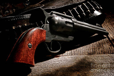 The Gun That Won The West Print by Olivier Le Queinec