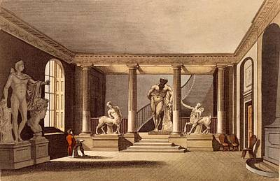 The Hall At The Royal Academy, Somerset Print by English School