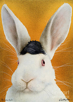 Humor. Painting - The Harepiece... by Will Bullas