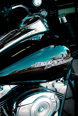 Classic Cycle Photograph - The Harley by David Patterson