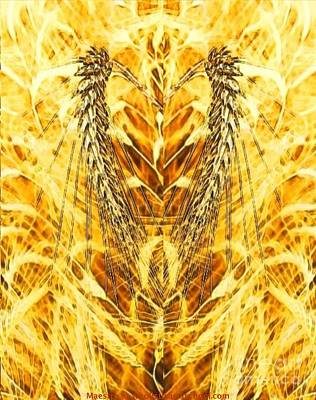 The Harvest Is Plentiful The Laborers Are Few Print by PainterArtist FIN
