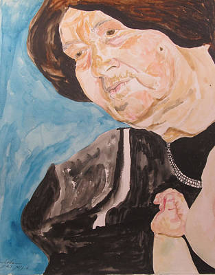 The Hassidic Grandmother Original by Esther Newman-Cohen