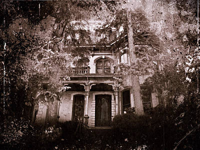 Haunted House Mixed Media - The Haunting by David Dehner
