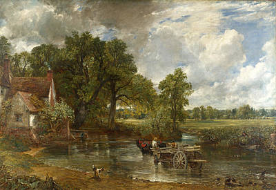 John Constable Painting - The Hay Wain by John Constable