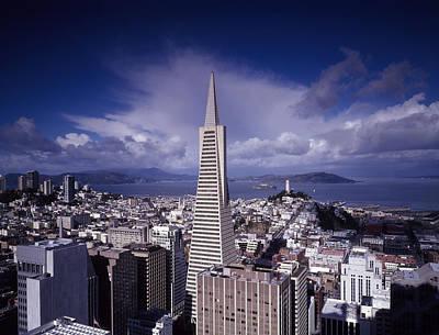 Pyramids Photograph - The Heart Of San Francisco by Mountain Dreams