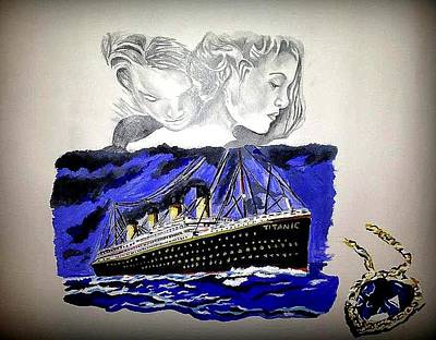 The Heart Of The Sea Print by Pauline Murphy