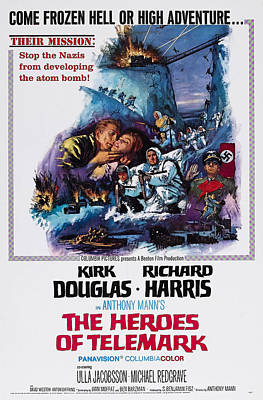 The Heroes Of Telemark, Us Poster Art Print by Everett