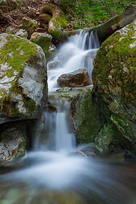 Stone Photograph - The Hidden Waterfall by Sarit Sotangkur