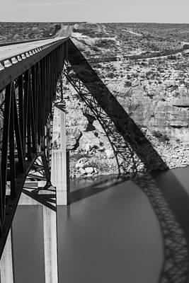 Del Rio Tx Print featuring the photograph The High Bridge by Amber Kresge