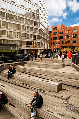 The High Line Urban Park New York Citiy Print by Amy Cicconi