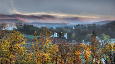Old Barn Photograph - The Hills by Bill Wakeley