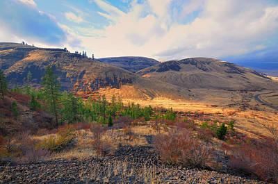 Terra Firma Photograph - The Hills by Gary Silverstein