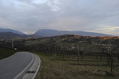 The Hills Of The Wine Print by Salvatore Gabrielli