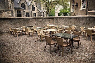 Museum Photograph - The Historic Architecture In Gouda Netherlands by Michal Bednarek