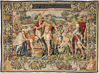 Tapestries Textiles Photograph - The History Of Hannibal The Plunder by Everett