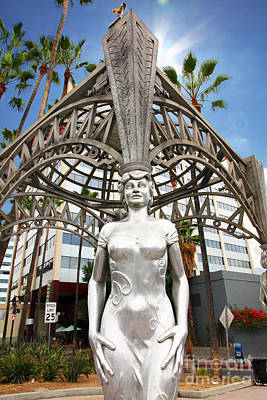 Dolores Photograph - The Hollywood Boulevard Gazebo La Brea Gateway To Hollywood 5d28929 by Wingsdomain Art and Photography