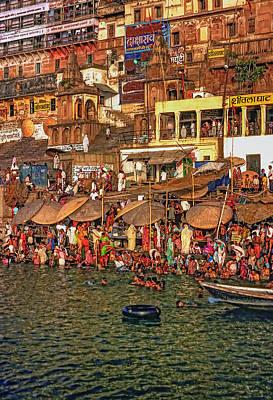 The Holy Ganges Print by Steve Harrington