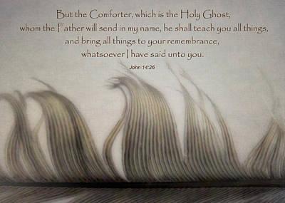 The Holy Spirit Print by David and Carol Kelly