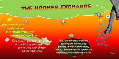 The Hooker Exchange Print by Pablo