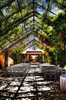 Albuquerque Photograph - The Hotel Albuquerque Wedding Pavilion by David Patterson