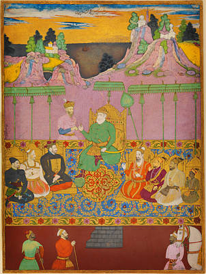 Rumi Painting - The House Of Bijapur by Celestial Images